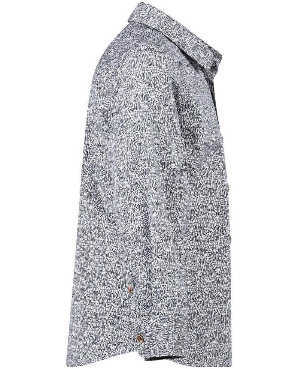 Hemden - Roomwit katoenen hemd